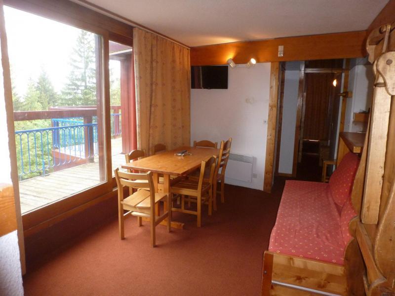 Location au ski Appartement 3 pièces 7 personnes (202) - Résidence Miravidi - Les Arcs - Séjour