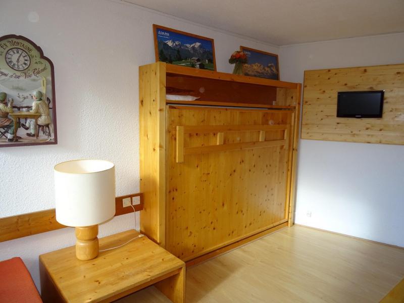 Location au ski Studio coin montagne 4 personnes (509) - Résidence Miravidi - Les Arcs - Table