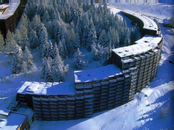Wakacje w górach Résidence Nova 5 - Les Arcs - Zima na zewnątrz