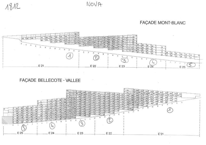 Location au ski Appartement 2 pièces coin montagne 6 personnes (314) - Résidence Nova - Les Arcs
