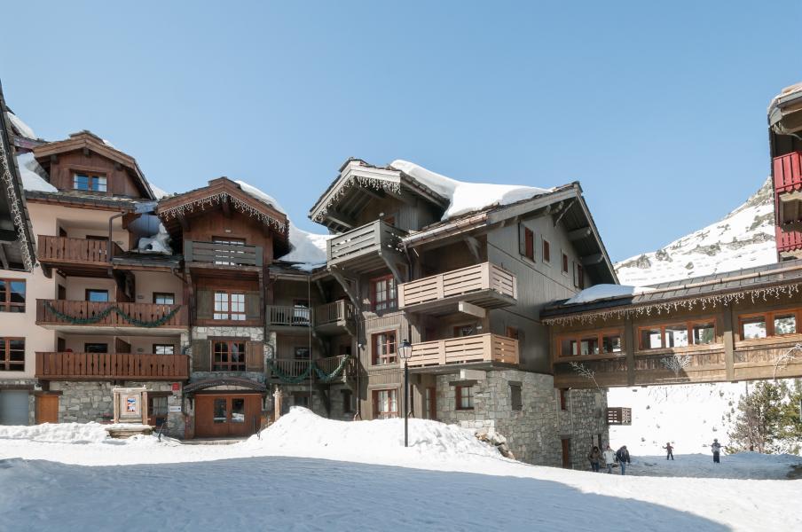 Vakantie in de bergen Résidence P&V Premium le Village - Les Arcs - Buiten winter