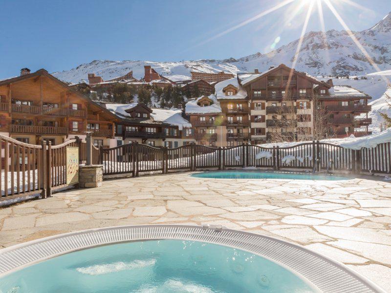 Location au ski Résidence P&V Premium le Village - Les Arcs - Extérieur hiver