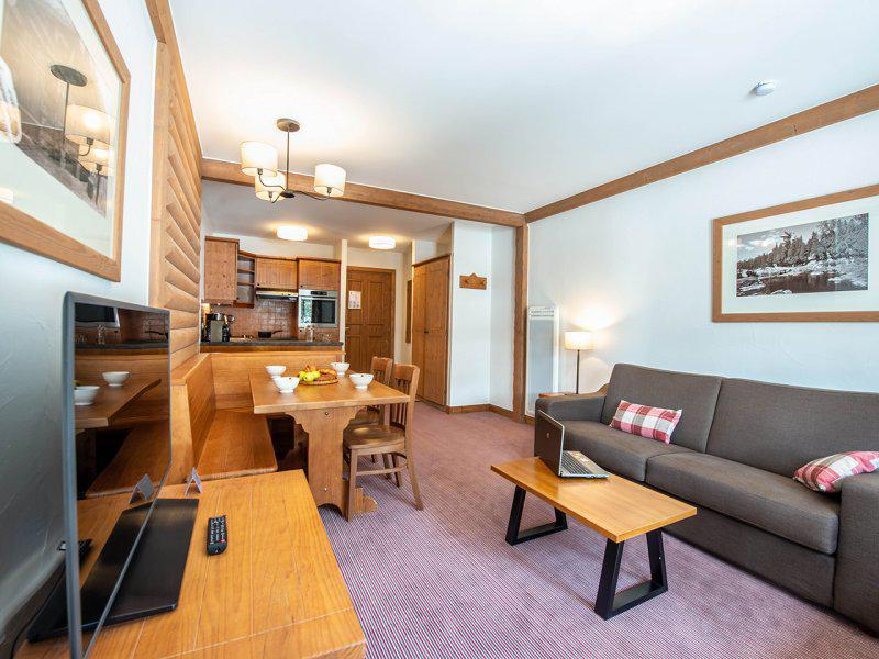 Location au ski Appartement 2 pièces 4 personnes (classique) - Résidence P&V Premium le Village - Les Arcs