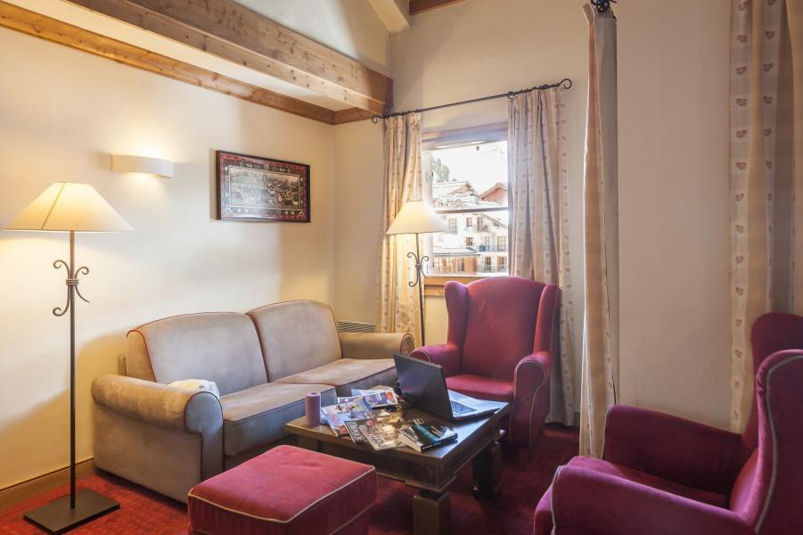 Location au ski Résidence P&V Premium le Village - Les Arcs - Canapé