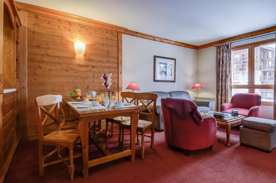 Location au ski Residence P&v Premium Le Village - Les Arcs - Coin repas