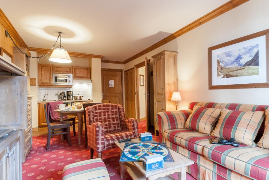 Location au ski Résidence P&V Premium le Village - Les Arcs - Coin séjour