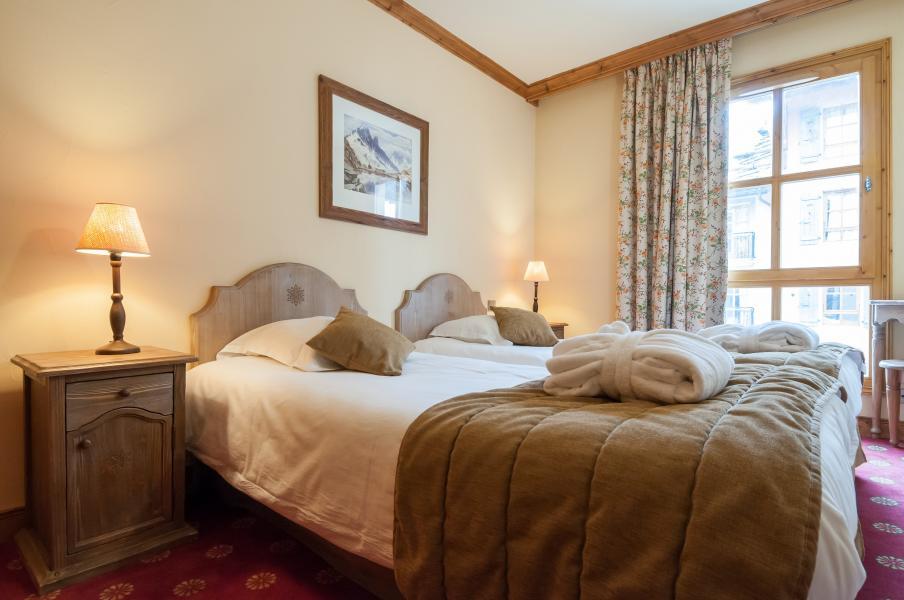 Location au ski Residence P&v Premium Le Village - Les Arcs - Lit double