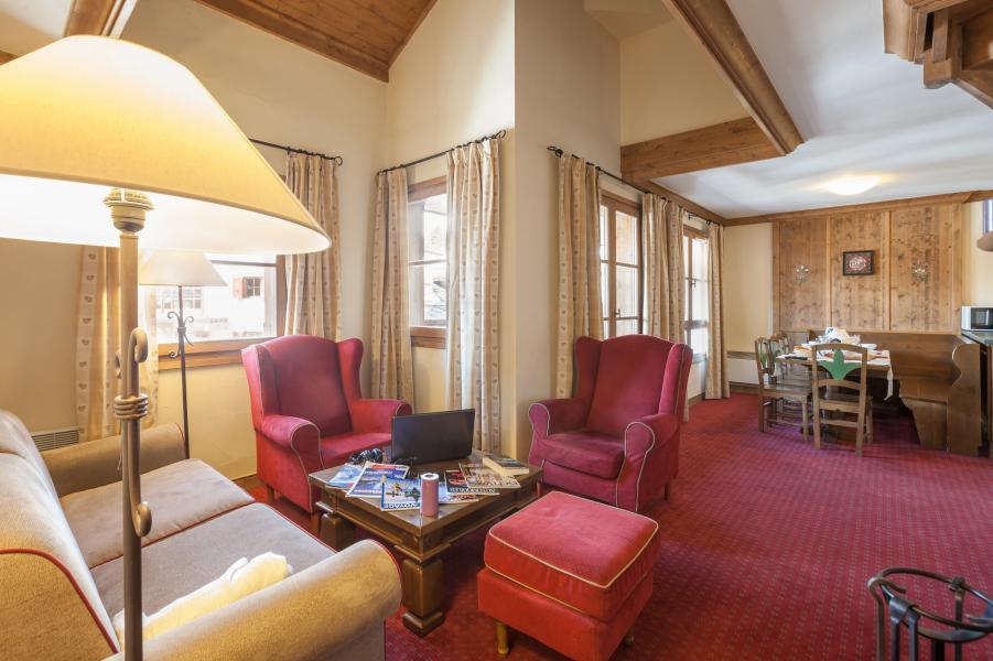 Rent in ski resort Résidence P&V Premium le Village - Les Arcs - Living room