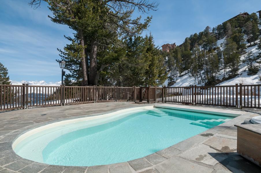 Location au ski Residence P&v Premium Le Village - Les Arcs - Piscine