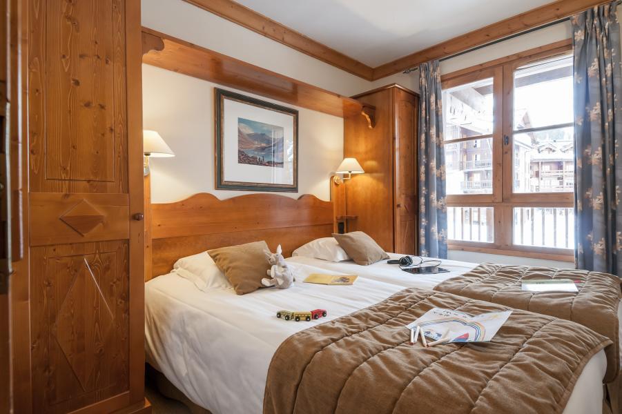Skiverleih Résidence P&V Premium le Village - Les Arcs - Schlafzimmer