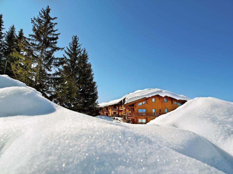 Location au ski Résidence P&V Premium les Alpages de Chantel - Les Arcs - Extérieur hiver