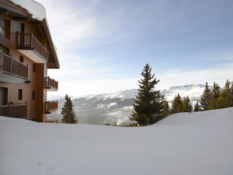 Wynajem na narty Résidence P&V Premium les Alpages de Chantel - Les Arcs - Zima na zewnątrz