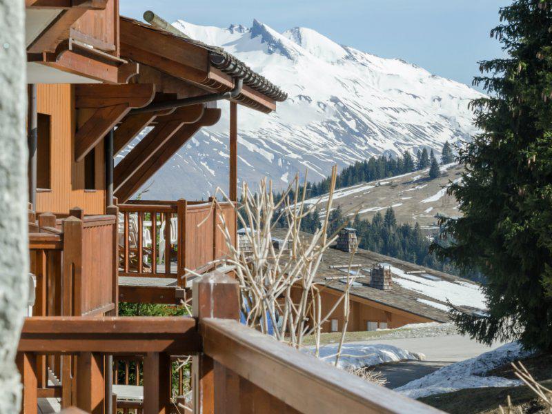 Vacances en montagne Résidence P&V Premium les Alpages de Chantel - Les Arcs - Extérieur hiver