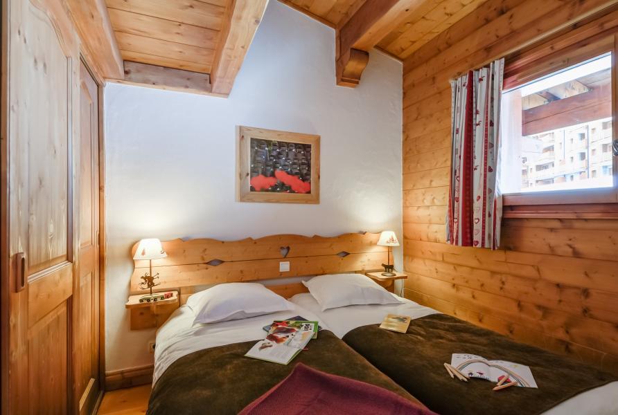 Location au ski Résidence P&V Premium les Alpages de Chantel - Les Arcs - Chambre mansardée