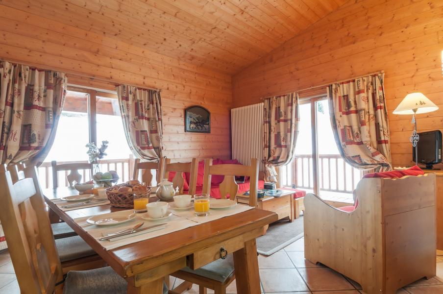 Location au ski Résidence P&V Premium les Alpages de Chantel - Les Arcs - Coin repas