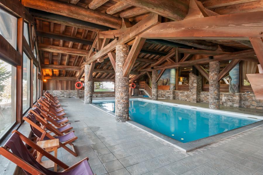 Location au ski Résidence P&V Premium les Alpages de Chantel - Les Arcs - Piscine