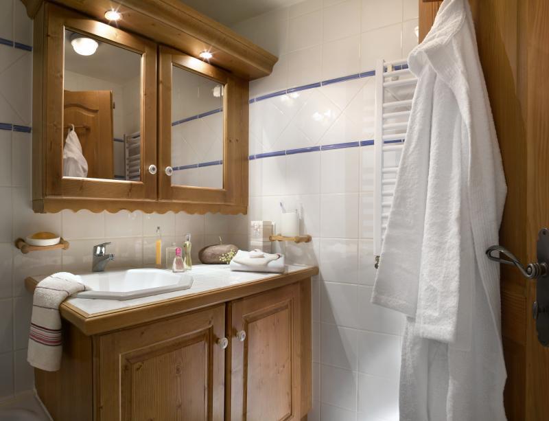 Location au ski Résidence P&V Premium les Alpages de Chantel - Les Arcs - Salle de bains