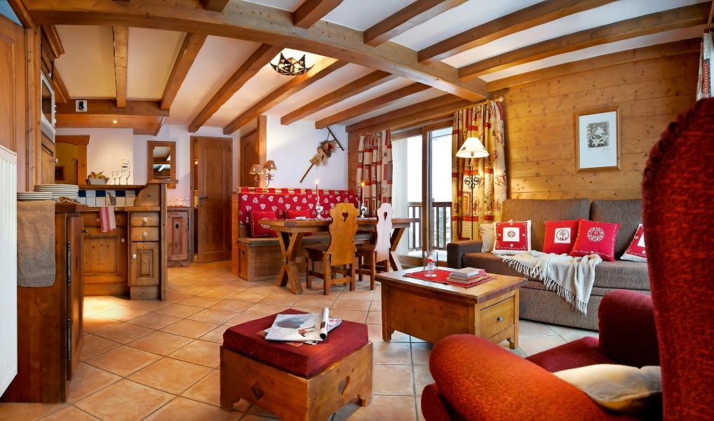 Location au ski Résidence P&V Premium les Alpages de Chantel - Les Arcs - Séjour