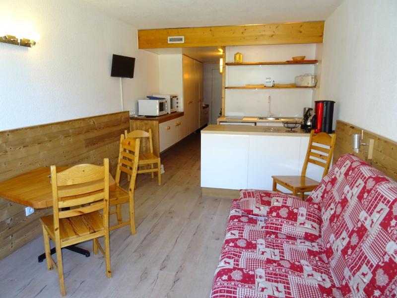 Location au ski Studio coin montagne 5 personnes (923) - Résidence Pierra Menta - Les Arcs - Extérieur hiver