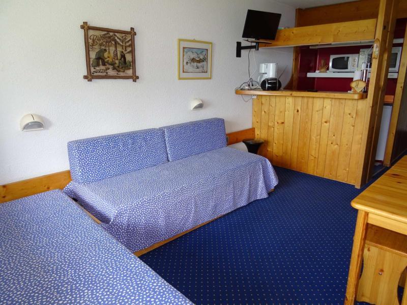 Location au ski Studio 3 personnes (002) - Residence Pierra Menta - Les Arcs - Canapé