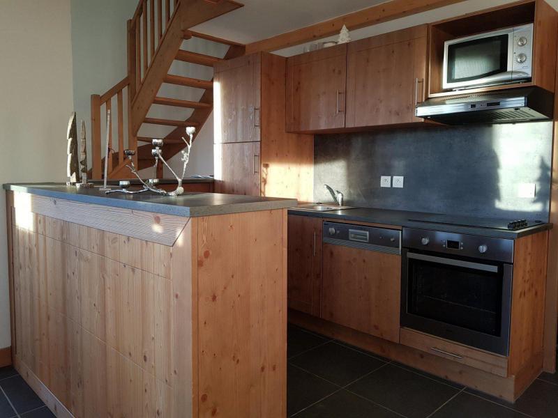 Wynajem na narty Apartament duplex 4 pokojowy 10 osób (C59) - Résidence Roc Belle Face C - Les Arcs - Aneks kuchenny