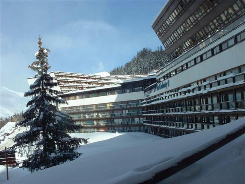 Location au ski Résidence Rouelles - Les Arcs - Extérieur hiver