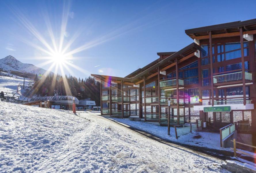 Vakantie in de bergen Résidence Tournavelles 1 - Les Arcs - Buiten winter