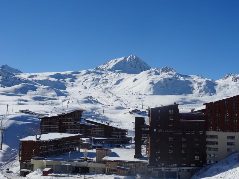 Location au ski Studio coin montagne 5 personnes (1114) - Résidence Varet - Les Arcs - Extérieur hiver