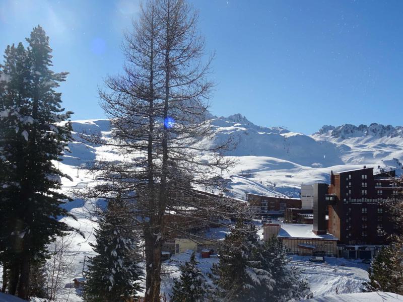 Location au ski Appartement 2 pièces coin montagne 6 personnes (970) - Résidence Varet - Les Arcs - Extérieur hiver