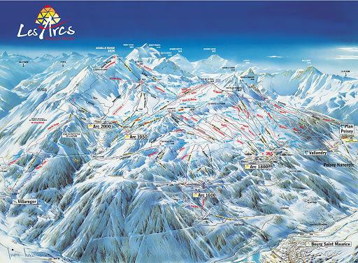 Location au ski Résidence Varet - Les Arcs