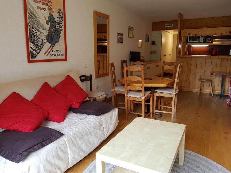 Location au ski Appartement 2 pièces coin montagne 6 personnes (970) - Résidence Varet - Les Arcs - Canapé