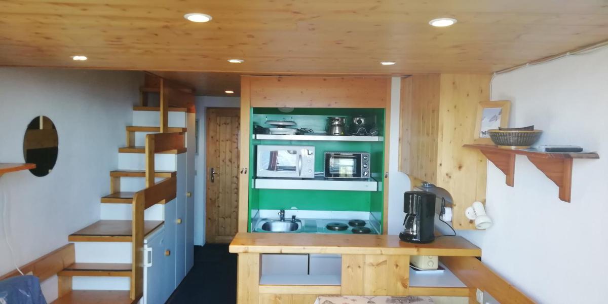 Location au ski Appartement 2 pièces mezzanine 6 personnes (004) - Résidence Vogel - Les Arcs
