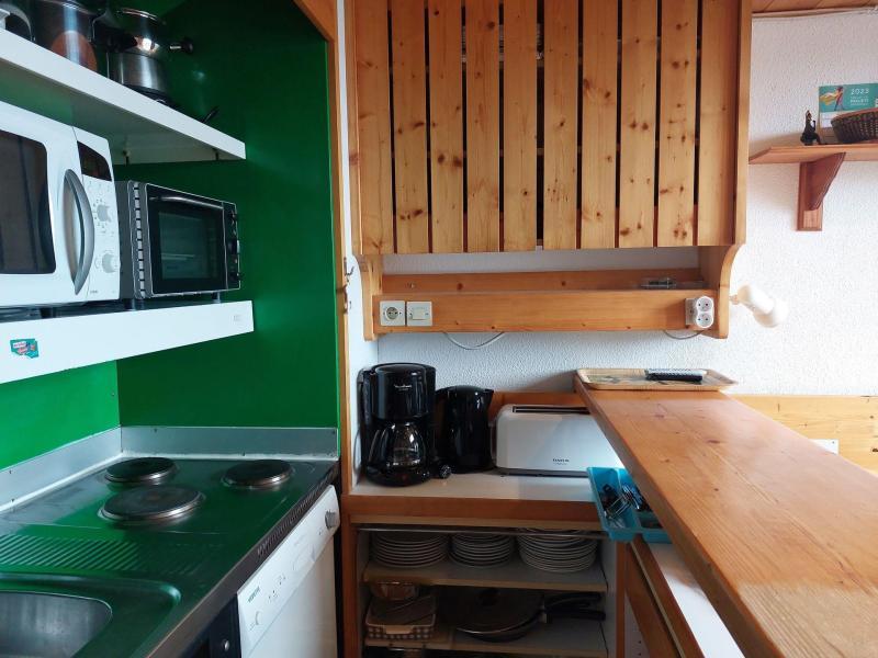 Wynajem na narty Apartament 2 pokojowy z antresolą 6 osób (004) - Résidence Vogel - Les Arcs - Aneks kuchenny
