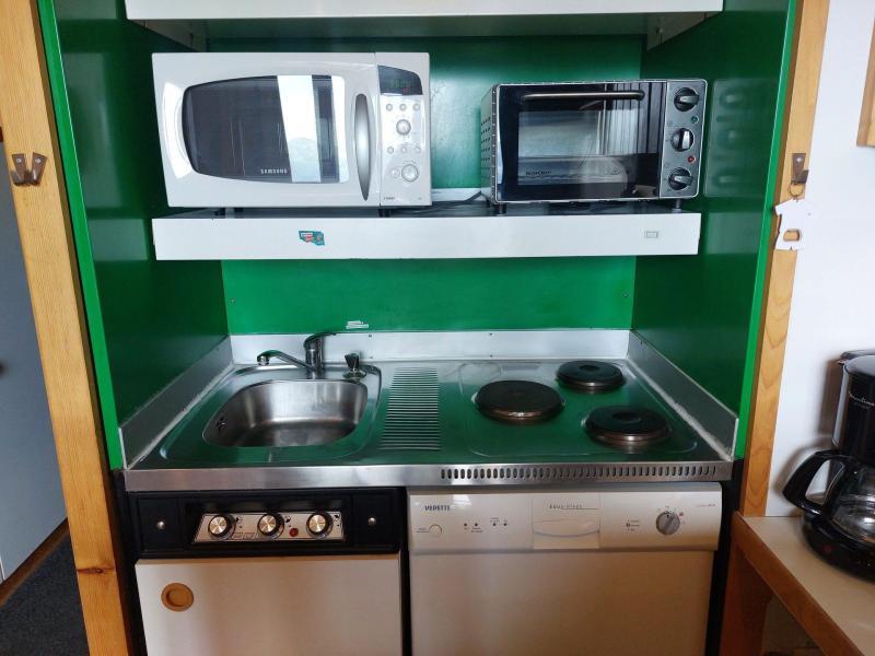 Wynajem na narty Apartament 2 pokojowy z antresolą 6 osób (004) - Résidence Vogel - Les Arcs - Łóżkem małżeńskim