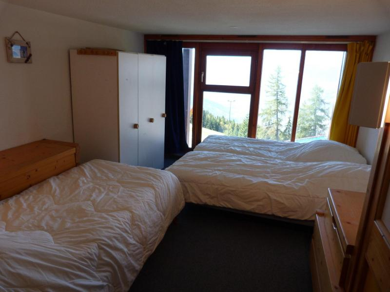 Location au ski Appartement 2 pièces mezzanine 6 personnes (004) - Résidence Vogel - Les Arcs - Lit double
