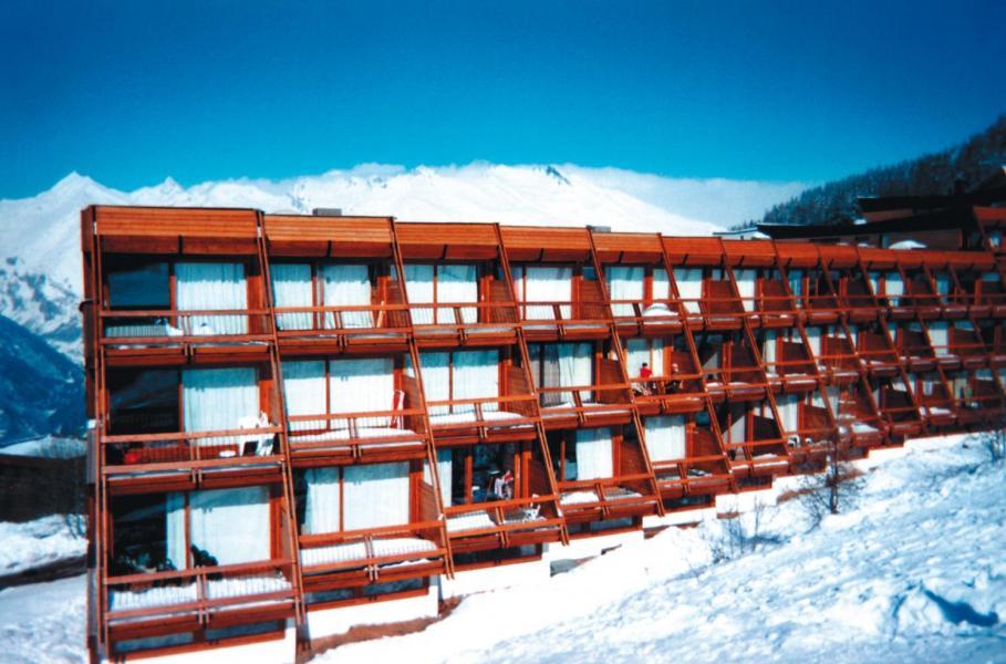Location au ski Résidences Lagrange Vacantel - Les Arcs - Extérieur hiver