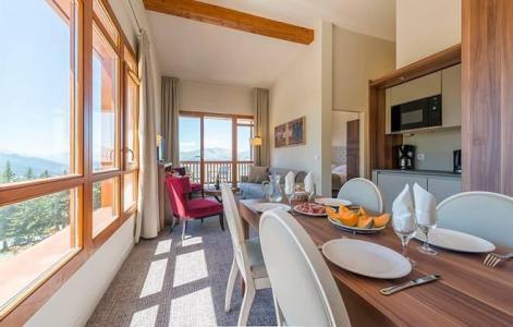 Rent in ski resort Appart'Hôtel Eden - Les Arcs - Dining area