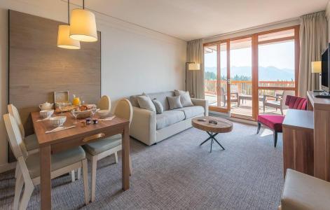 Skiverleih Appart'Hôtel Eden - Les Arcs - Wohnzimmer