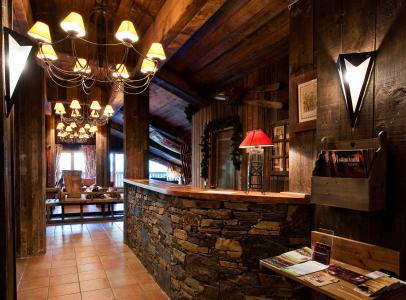 Location au ski Chalet Altitude - Les Arcs - Réception