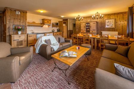 Wynajem na narty Apartament 5 pokojowy 8-10 osób - Chalet Altitude - Les Arcs - Pokój gościnny