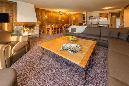 Wynajem na narty Apartament duplex 8 pokojowy 14-16 osób - Chalet Altitude - Les Arcs - Pokój gościnny