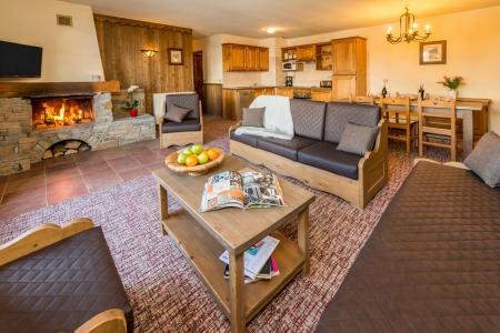 Location au ski Appartement 4 pièces 6-8 personnes - Chalet Altitude - Les Arcs - Séjour
