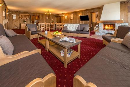 Location au ski Appartement duplex 8 pièces 14-16 personnes - Chalet Altitude - Les Arcs - Banquette