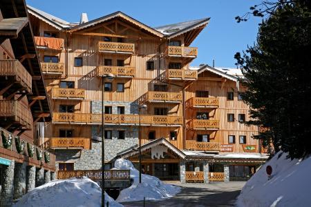 Location au ski Chalet de l'Ours - Les Arcs - Extérieur hiver