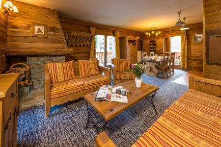 Location au ski Appartement 4 pièces 6-8 personnes - Chalet de l'Ours - Les Arcs - Séjour