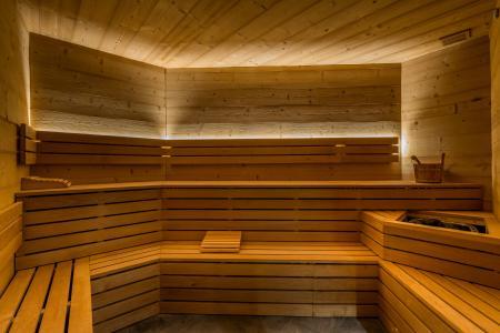 Location au ski Chalet de l'Ours - Les Arcs - Sauna