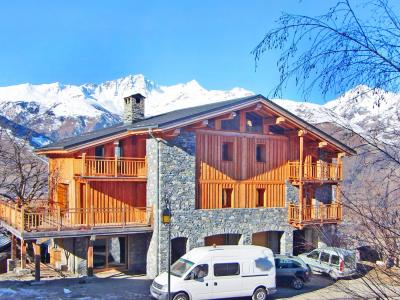 Rent in ski resort Chalet des Arcs CED01 - Les Arcs - Winter outside