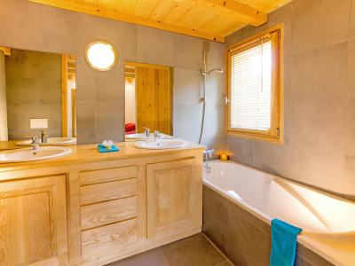 Rent in ski resort Chalet des Arcs CED01 - Les Arcs - Bath-tub