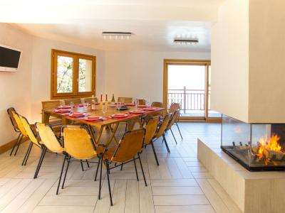 Rent in ski resort Chalet des Arcs CED01 - Les Arcs - Dining area