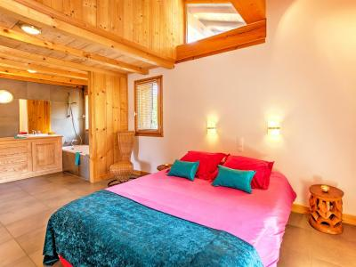 Rent in ski resort Chalet des Arcs CED01 - Les Arcs - Double bed